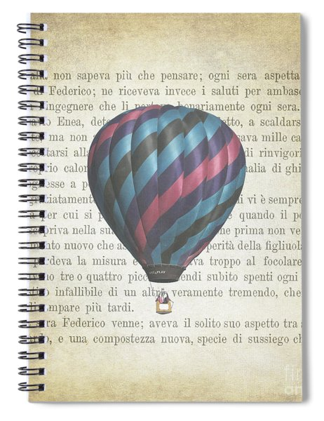 The Printed Page 5 Spiral Notebook