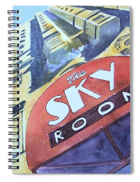 The Sky Room Spiral Notebook