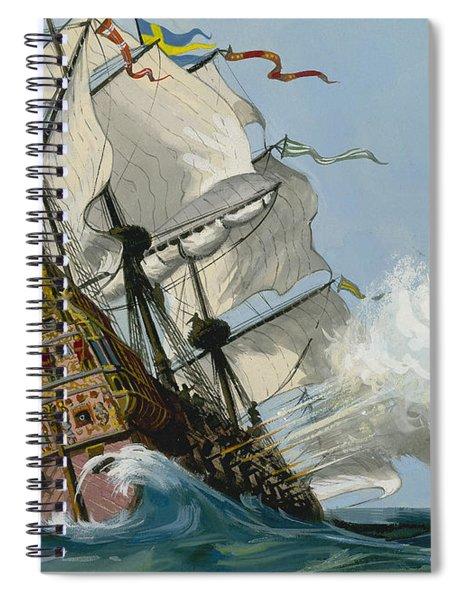 The Swedish Warship Vasa Spiral Notebook