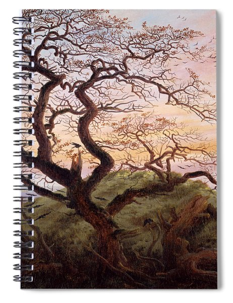 The Tree Of Crows Spiral Notebook