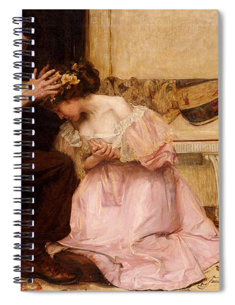 The Two Crowns Spiral Notebook