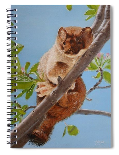 The Weasel Spiral Notebook