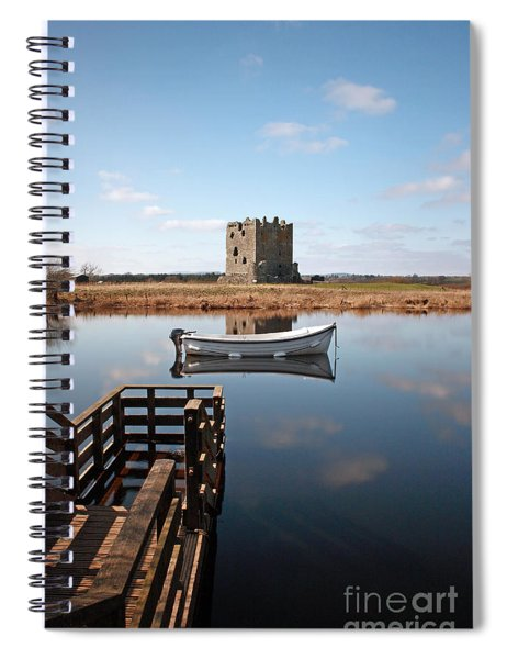 Threave Castle Reflection Spiral Notebook