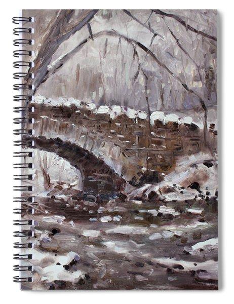 Three Sister's Islands Bridge Spiral Notebook