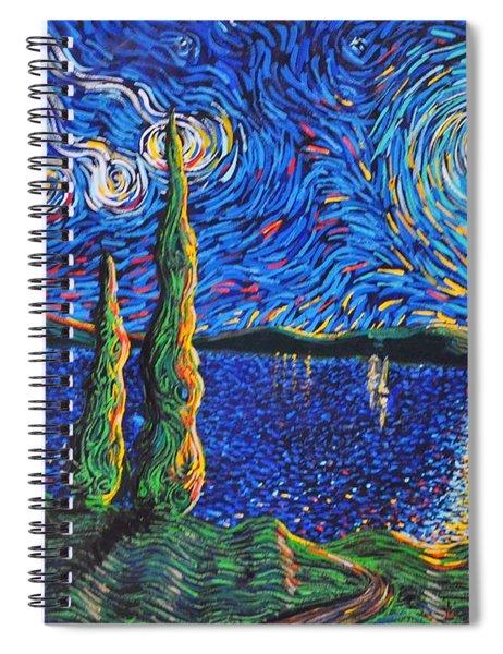 Three Wishes Spiral Notebook