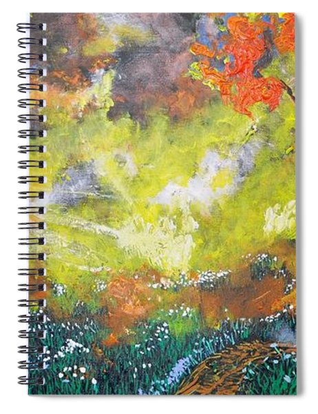 Through The Myst Spiral Notebook