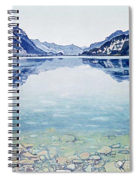 Thunersee Von Leissigen Spiral Notebook