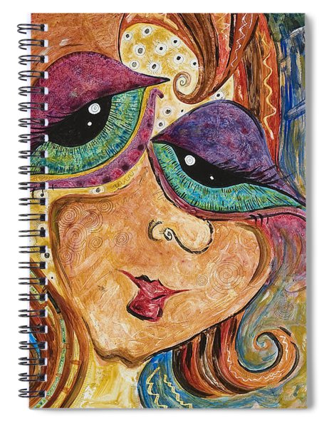 Time Is Flying By Spiral Notebook