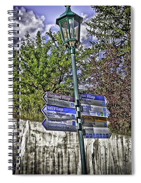 To Vail With Love Spiral Notebook