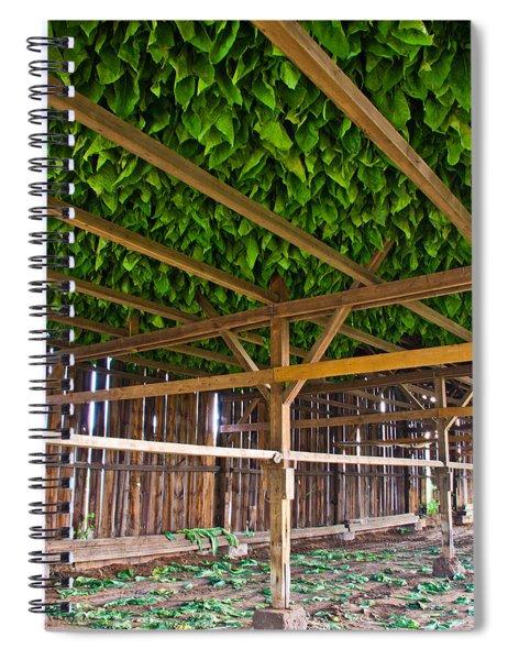 Tobacco Spiral Notebook