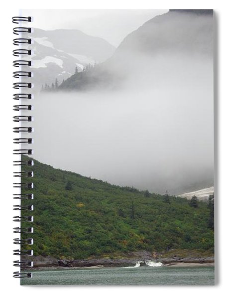 Tracy Arm Inlet Spiral Notebook