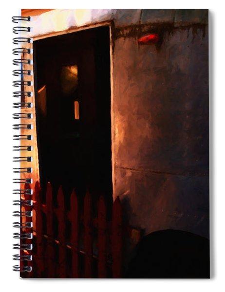 Trailer Park - Painterly - 5d16585 Spiral Notebook