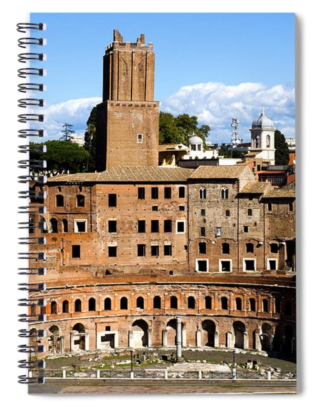 Trajan's Market  Spiral Notebook