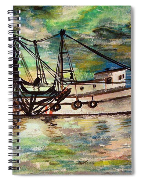 Trawling Spiral Notebook