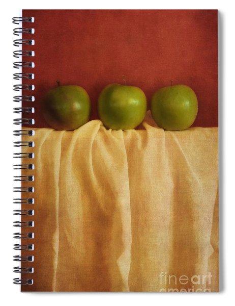 Trois Pommes Spiral Notebook