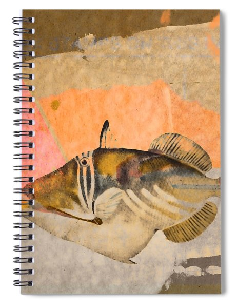 Tropical Dream Number 2 Square Format Spiral Notebook