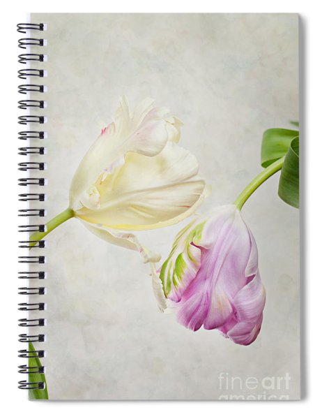 Two Tulips Spiral Notebook