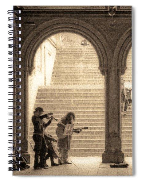 Underground Music Spiral Notebook