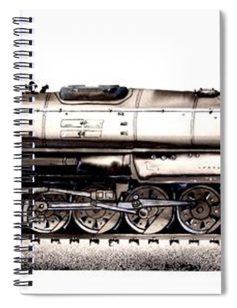 Union Pacific 4-8-8-4 Steam Engine Big Boy 4005 Spiral Notebook