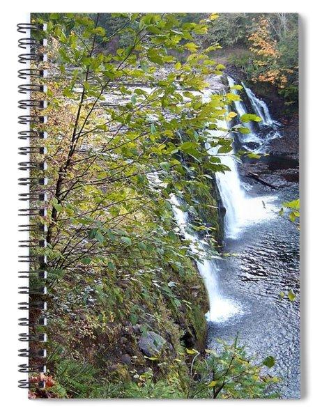 Upper Rock Creek Falls Spiral Notebook