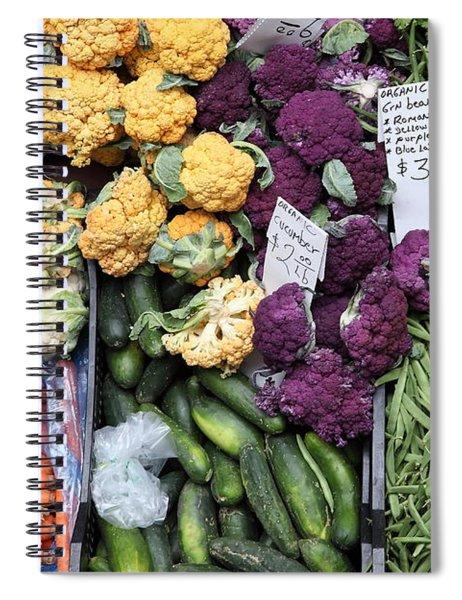 Variety Of Fresh Vegetables - 5d17900 Spiral Notebook