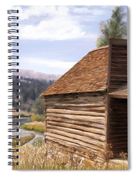 Vc Backyard Spiral Notebook