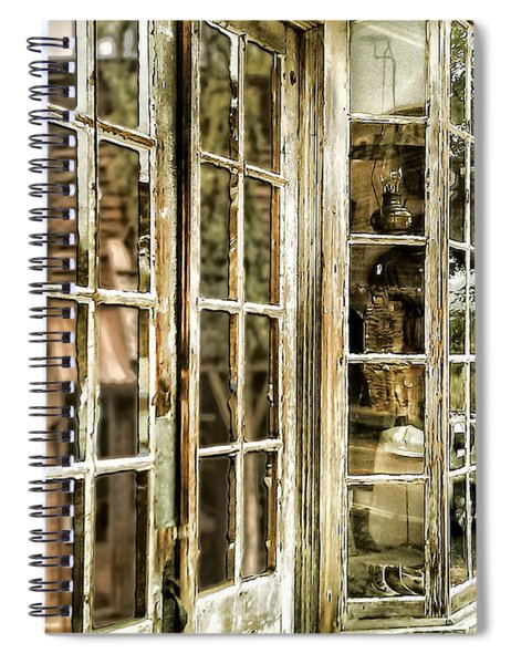 Vc Window Reflection Spiral Notebook