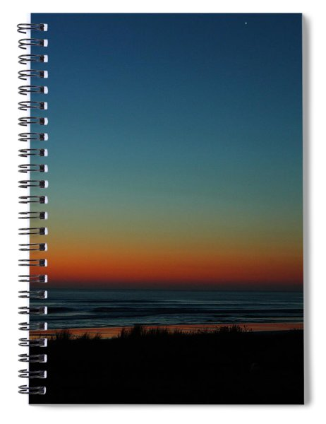 Venus And Atlantic Before Sunrise Spiral Notebook