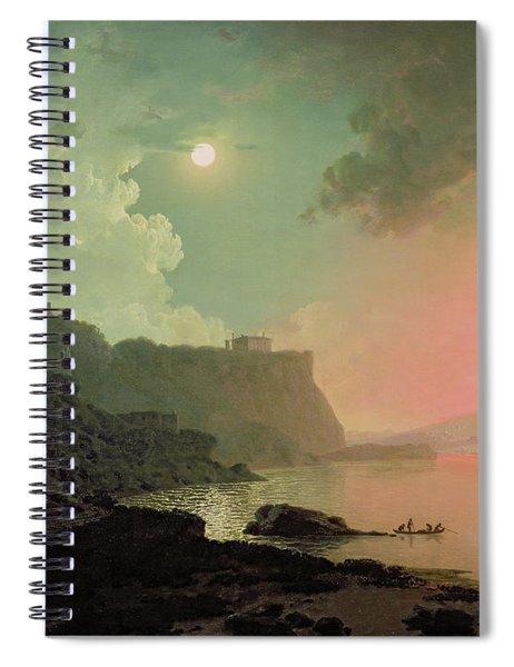 Vesuvius From Posillipo Spiral Notebook
