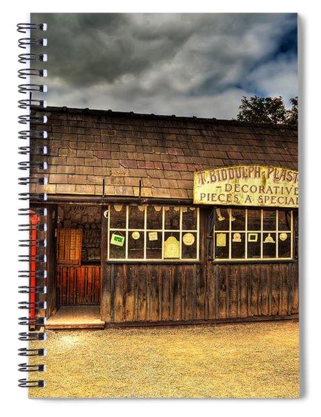 Victorian Shop Spiral Notebook