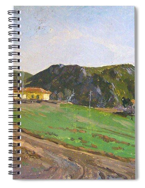 View From Belesh Elbasan Spiral Notebook