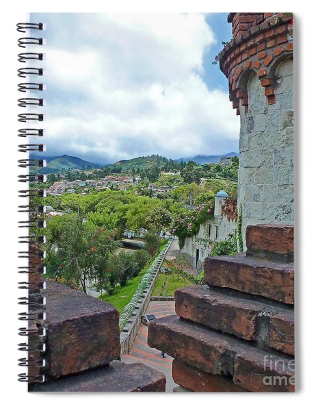 View From The City Walls - Loja - Ecuador Spiral Notebook