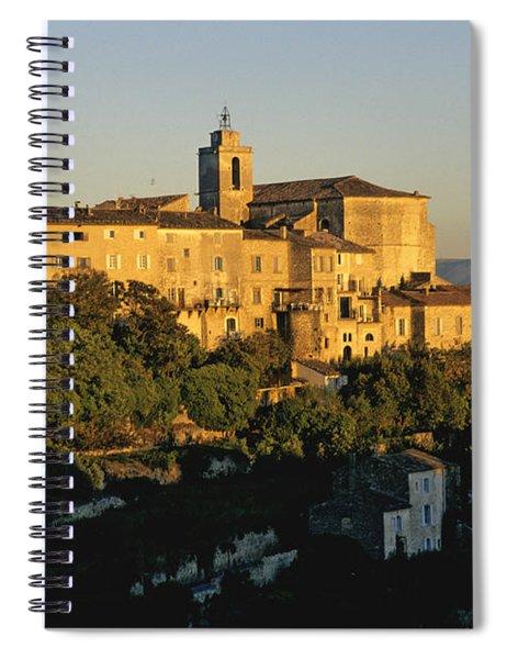 Village De Gordes. Vaucluse. France. Europe Spiral Notebook