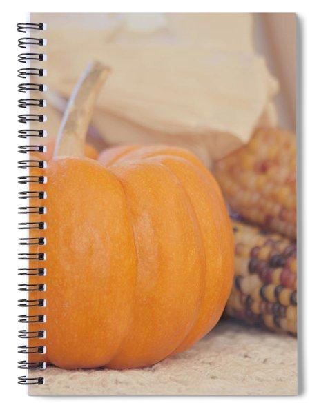 Vintage Autumn Harvest  Spiral Notebook