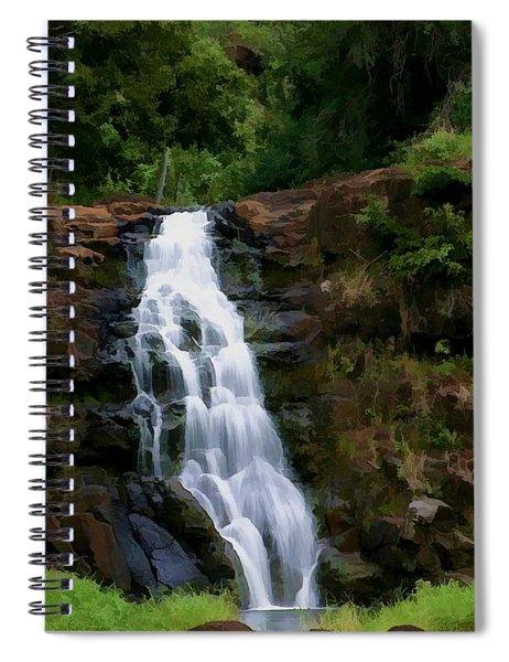 Waimea Valley Falls Spiral Notebook