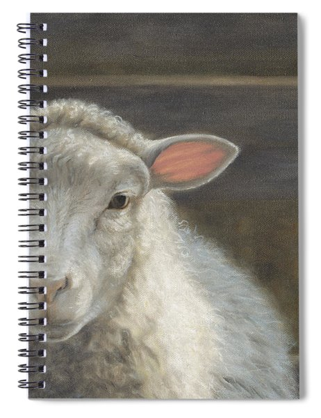Waiting For The Shepherd Spiral Notebook