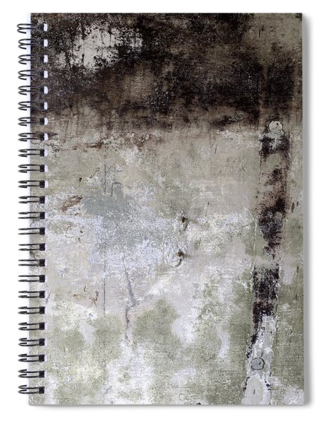 Wall Texture Number 11 Spiral Notebook