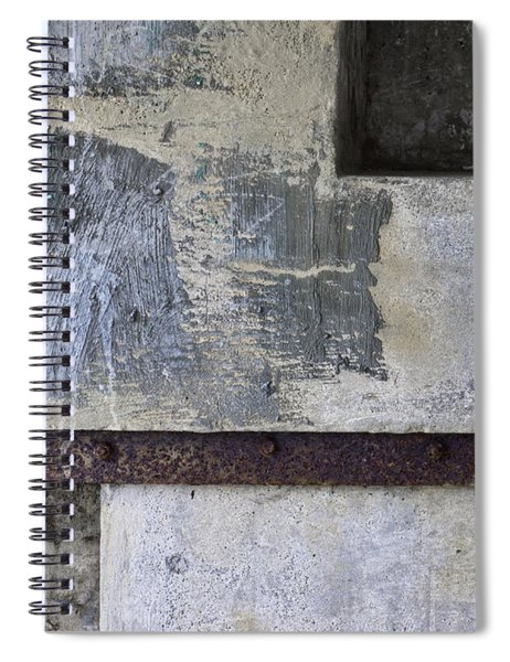 Wall Texture Number 12 Spiral Notebook