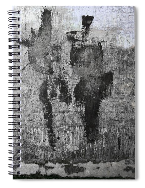 Wall Texture Number 13 Spiral Notebook
