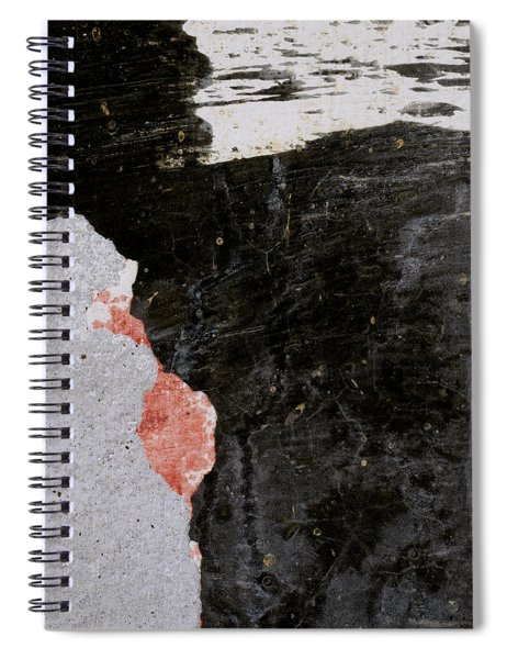 Wall Texture Number 6 Spiral Notebook