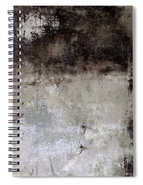 Wall Texture Number 8 Spiral Notebook
