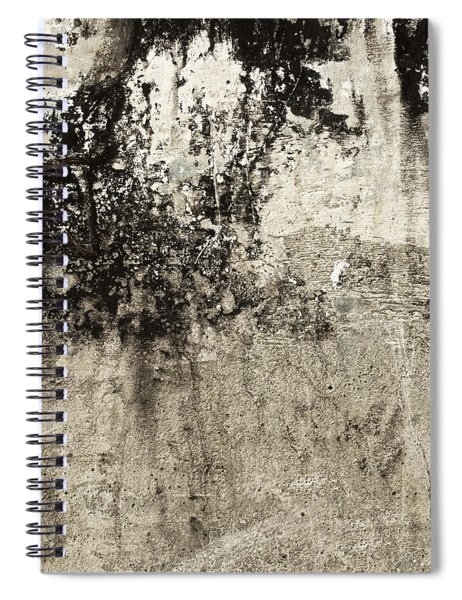 Wall Texture Number 9 Spiral Notebook
