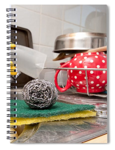 Washing Up Spiral Notebook