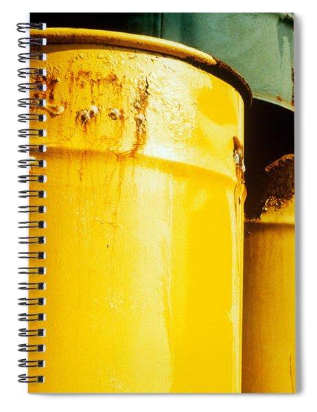 Waste Drums Spiral Notebook