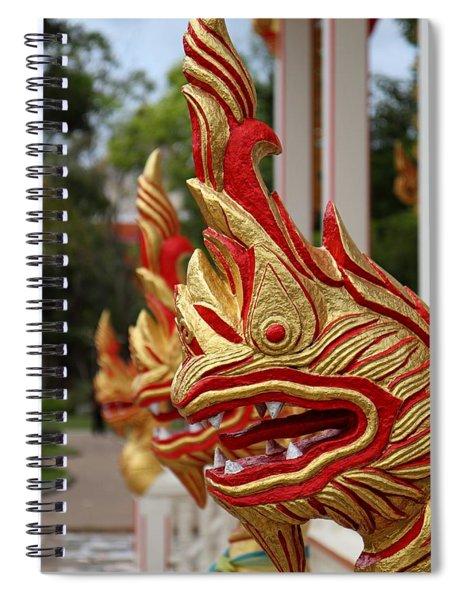 Wat Chalong 3 Spiral Notebook