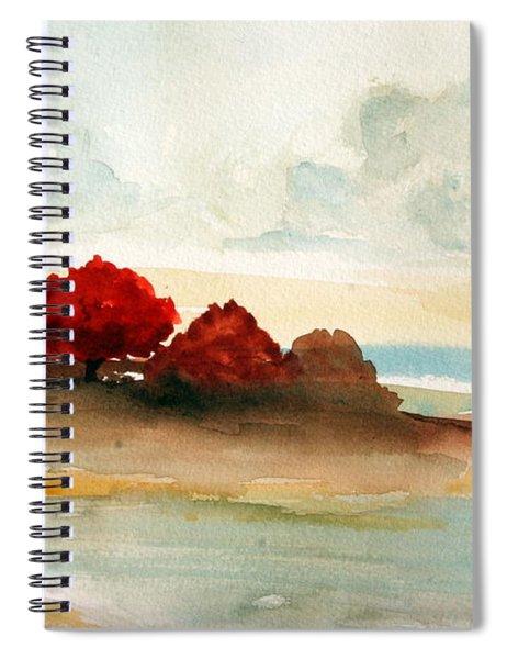 Watercolor Bay Spiral Notebook