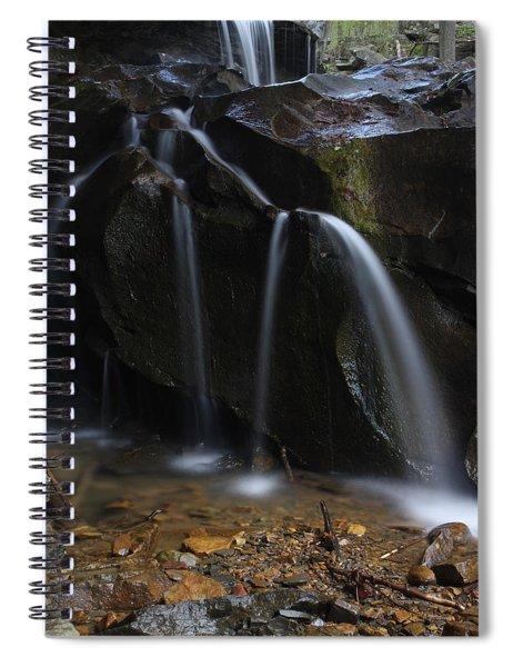 Waterfall On Emory Gap Branch Spiral Notebook