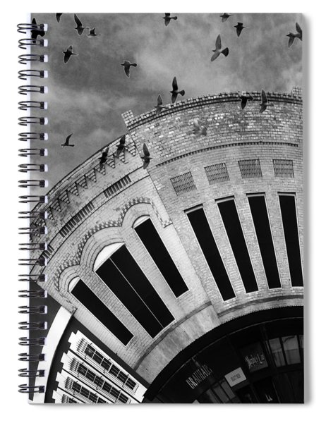 Wee Bryan Texas Detail In Black And White Spiral Notebook
