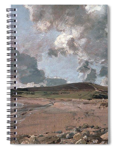 Weymouth Bay With Jordan Hill Spiral Notebook