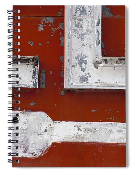 White Arrow On Motel Sign Spiral Notebook